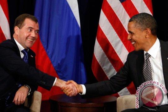 Obama dan Medvedev bicarakan soal Iran, Afghanistan dan Suriah