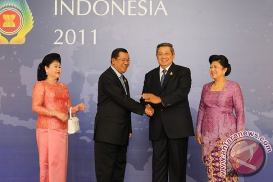 Presiden Yudhoyono sambut pemimpin negara anggota ASEAN