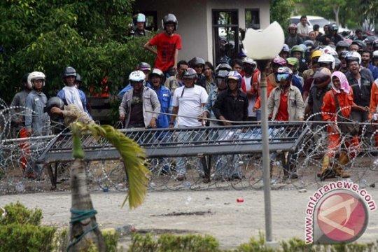 Polri evaluasi penanganan unjuk rasa di Batam