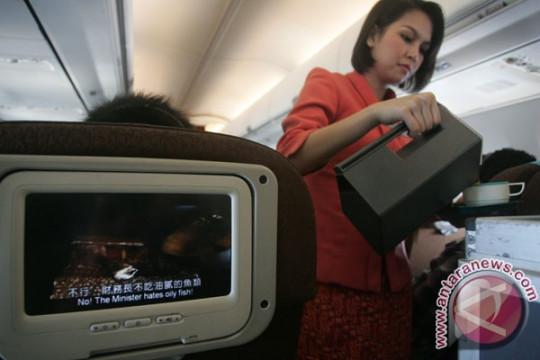 Pemakai jasa penerbangan meningkat 60 persen