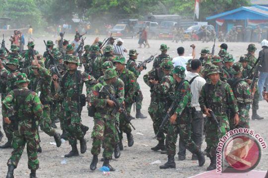 Lima ratus anggota kelompok bersenjata Puncak jaya diberi pekerjaan