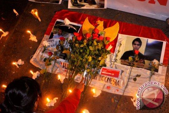Mahasiswa Jember gelar solidaritas kematian Sondang