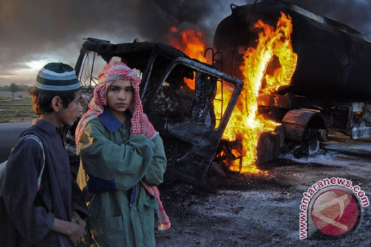 Bus pembawa pekerja China di Pakistan diserang