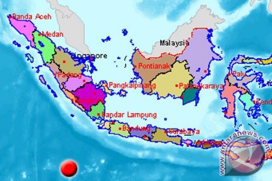 Gempa Banten hampir berbarengan dengan gempa di PNG