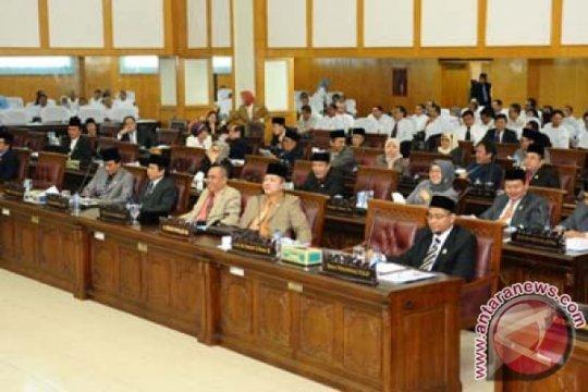 DPRD Sumsel Setujui Rancangan APBD Tahun 2012