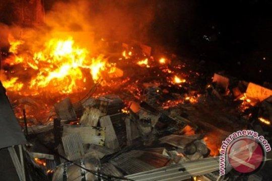 Kebakaran besar di malam Natal