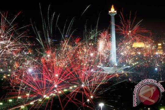 Ratusan acara meriahkan tahun baru di Jakarta