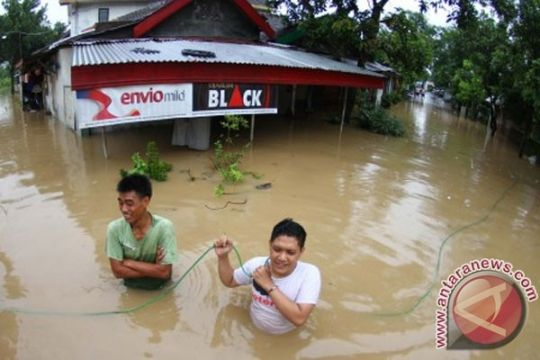 Pemkab Nganjuk minta warga waspadai banjir susulan