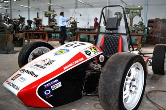 Mobil formula UGM ikuti kompetisi di Jepang