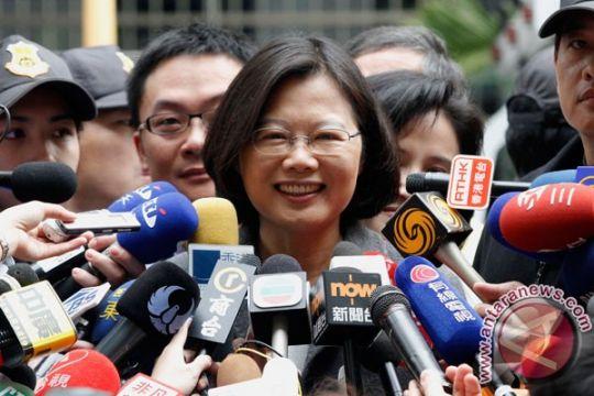 Pemimpin Taiwan Tsai Ing-wen unggul dalam pemilihan pendahuluan