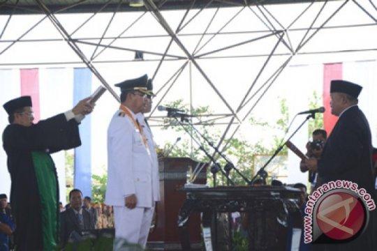 Ribuan Undangan Hadiri Pelantikan Bupati-Wakil Bupati Muba