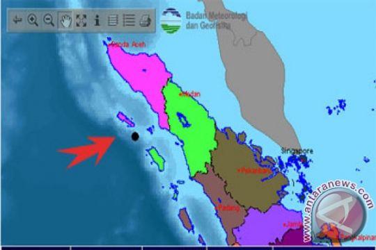 Gempa 5,7 SR landa Aceh Singkil