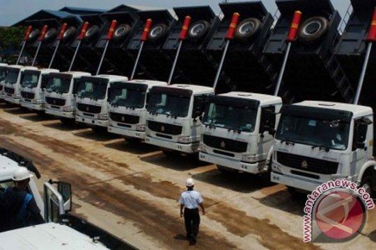 Penjualan truk China meningkat di Januari
