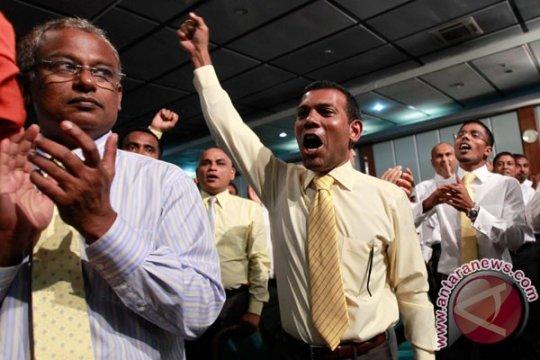 Pemimpin oposisi nyatakan diri menang pemilu di Maladewa