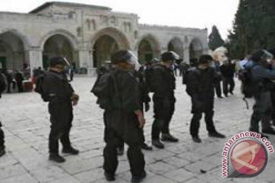 Lebih 1.100 pemukim Yahudi menerobos ke kompleks Masjid Al-Aqsha