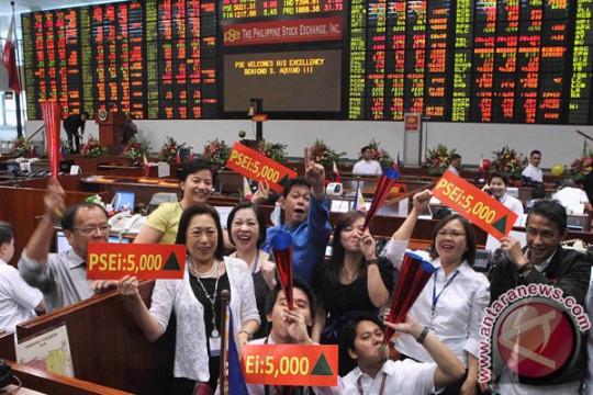 Saham Filipina lanjutkan kenaikan, Indeks PSE terangkat 0,12 persen