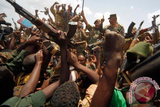 Pasukan Sudan bubarkan pengunjuk rasa setelah demonstrasi sepekan