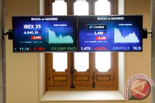 Saham Spanyol turun tipis dengan indeks IBEX 35 menyusut 0,06 persen