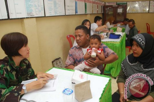 Pengobatan gratis Satgas Pamtas RI-Timor Leste