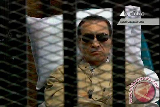 Pengadilan Mesir kabulkan permohonan banding Mubarak