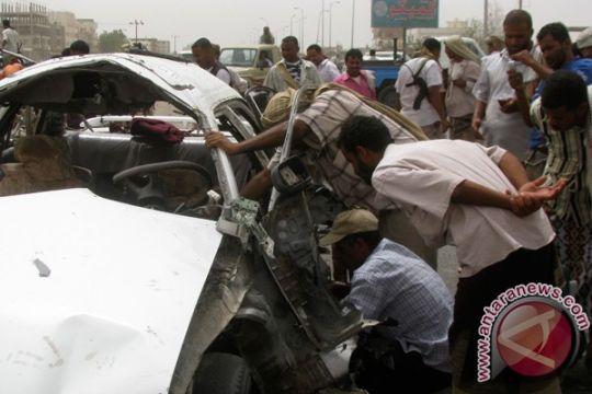 Ledakan bom mobil tewaskan sedikitnya empat orang di Yaman