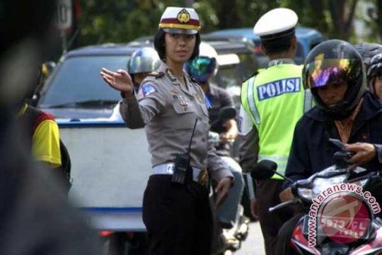 Ratusan pengendara terjaring Operasi Simpatik Polantas Sukabumi