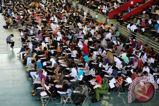 Ratusan ribu lulusan SMA lolos seleksi SNMPTN