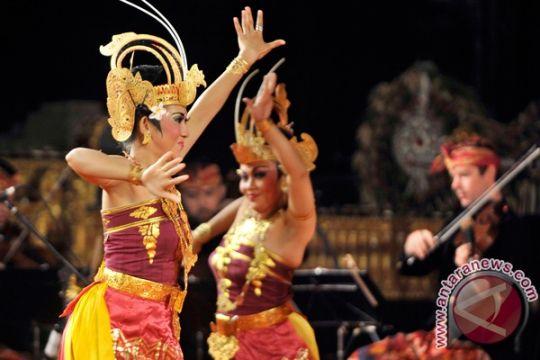 Gamelan Bali membahana di pusat Kota Meksiko