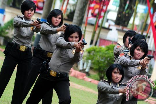 Polwan 22 negara berkunjung ke Indonesia