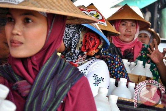Finalis Ratu Jamu Gendong kunjungi kawasan Borobudur