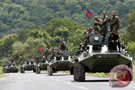 Kamboja mulai pelatihan militer gabungan dengan China