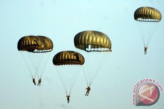 99 karbol Akademi Angkatan Udara latihan para dasar