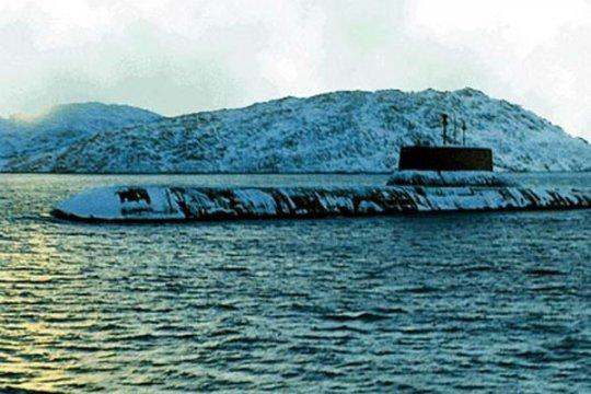 Rusia tembakkan rudal dari kapal selam di Laut Barents