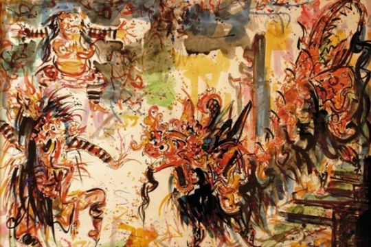 13 lukisan Nyoman Gunarsa jadi cagar budaya