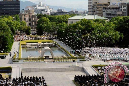 Jepang peringati 70 tahun pengeboman Hiroshima