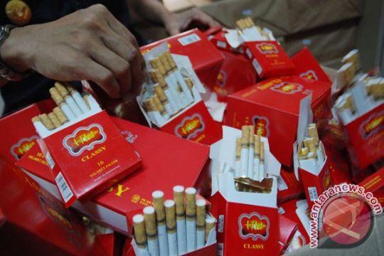 Bea Cukai Riau-Sumbar sita 20 juta rokok selama 2015