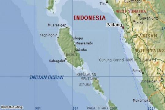 Mentawai status darurat 10 hari