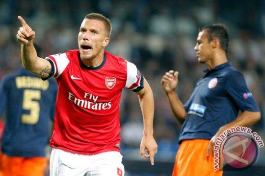 Podolski diragukan bisa tampil perkuat jerman di kualifikasi Euro 2016