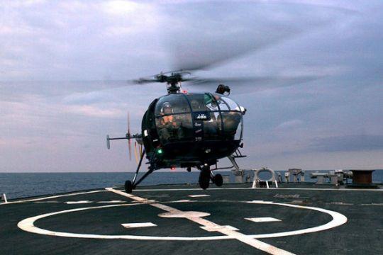 Helikopter jatuh di laut utara, 15 cedera, tiga orang hilang