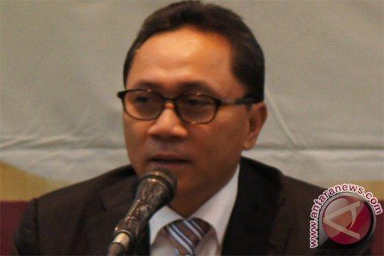 Zulkifli Hasan terpilih sebagai Ketua MPR RI 2014-2019