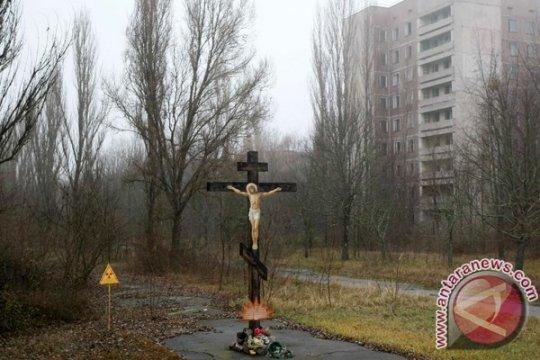 Kebakaran hutan dekat area Chernobyl berhasil dipadamkan