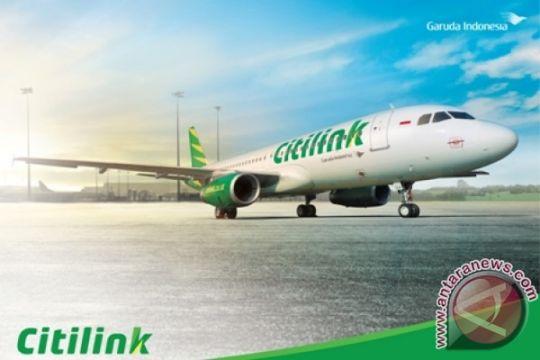 Pesawat Citilink Jakarta-Padang pecah ban saat mendarat