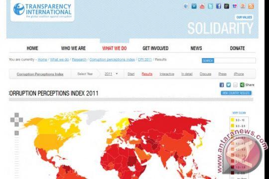 Survei : 152.346 berita korupsi selama 2013