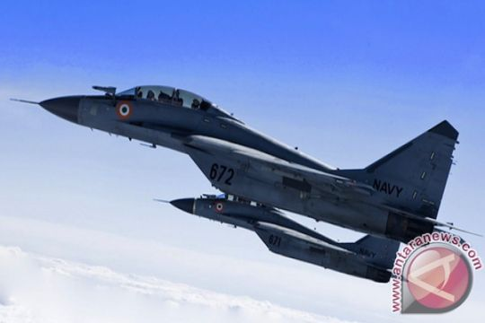 Tiga MiG-29 Fulcrum India dikirim