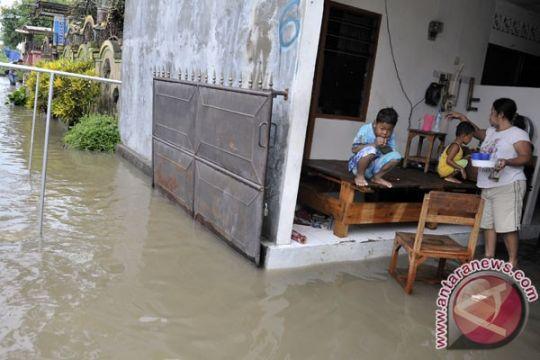 Beberapa pemukiman di Denpasar tergenang