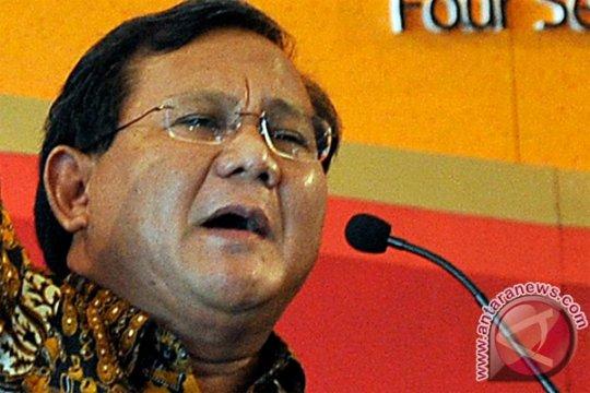 Prabowo: ada kejanggalan pengelolaan sumber daya alam
