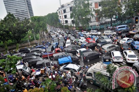 2017, kecepatan mobil di Jakarta sama dengan jalan kaki
