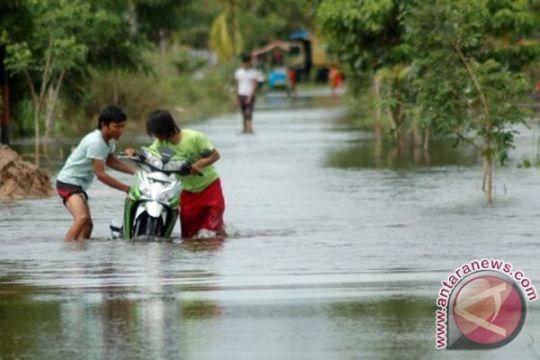 Banjir di Sumatera Selatan meluas