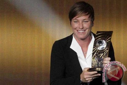 Wambach jadi Perempuan Pesepakbola Terbaik Dunia