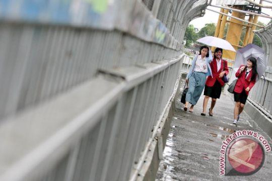 Jakarta hujan ringan
